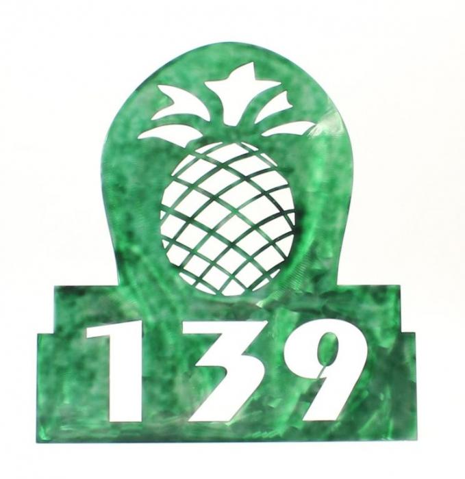 custom-metal-address-sign-pineapple-